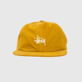 Кепка Stussy WASHED OXFORD STRAPBACK CAP Mustard