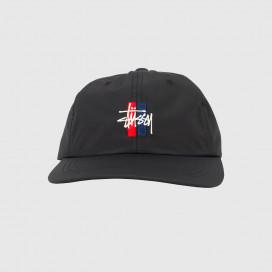 Кепка Stussy BARS LOGO LOW PRO CAP Black