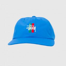 Кепка Stussy BARS LOGO LOW PRO CAP Blue