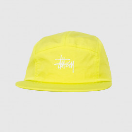 Кепка Stussy BASIC STOCK CAMP CAP Neon Yellow
