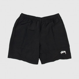 Шорты Stussy TAPING NYLON SHORT Black