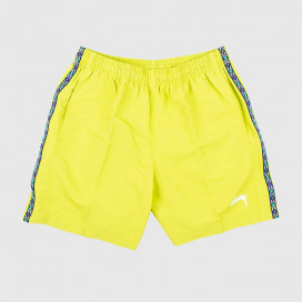 Шорты Stussy TAPING NYLON SHORT Lime