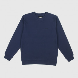 Толстовка Stussy STOCK LS TERRY CREW Navy