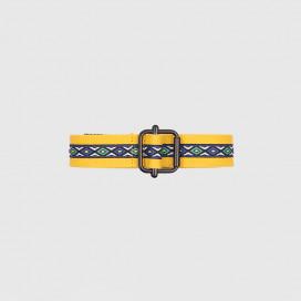 Ремень Stussy Woven Taped Web Belt Mustard