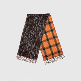 Шарф  Stussy Tree Bark Camo Wool Scarf Brown