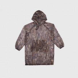 Куртка женская Stussy Tree Bark Camo Mesh Pullover Brown