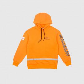 Толстовка с капюшоном Syndicate Astronaut Hoodie Orange