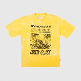 Футболка Syndicate Orion Glass Tee Yellow