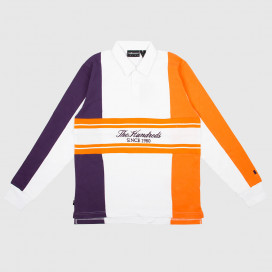 Лонгслив The Hundreds Willow Rugby Polo White