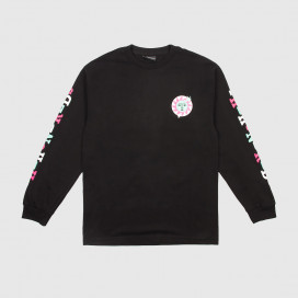 Лонгслив The Hundreds Global Warming LS T-Shirt Black