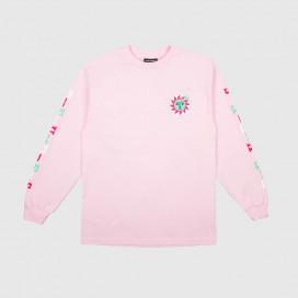 Лонгслив The Hundreds Global Warming LS T-Shirt Pink