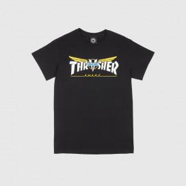 Футболка Thrasher Venture Collab S/S Black