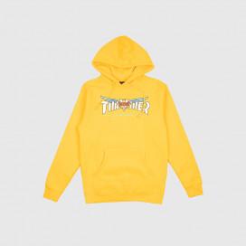 Толстовка с капюшоном Thrasher Venture Collab Hood Gold