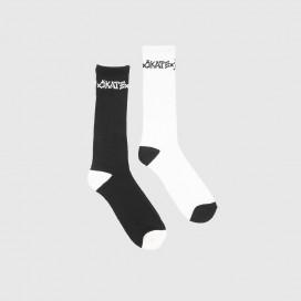 Носки Thrasher Skate and Destroy Socks Black/White
