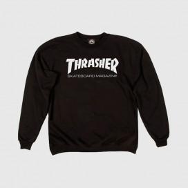 Толстовка Thrasher Skate Mag Crewnec Black