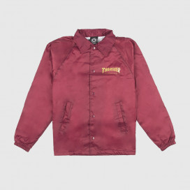 Куртка Thrasher  Pentagram Coatch Jacket Maroon