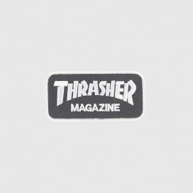 Нашивка Thrasher Patches Logo Black