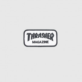 Нашивка Thrasher Patches Logo White