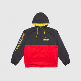 Анорак Thrasher Mag Logo Anorak Black/Red