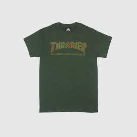 Футболка Thrasher Davis Forest Green