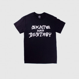 Футболка Thrasher Skate and Destroy T-Shirt Black