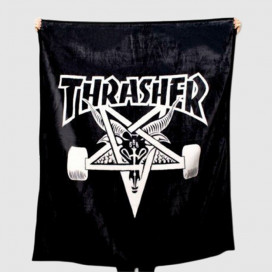 Покрывало Thrasher Skate Goat Blanket Black