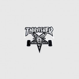 Нашивка Thrasher Skategoat patch White