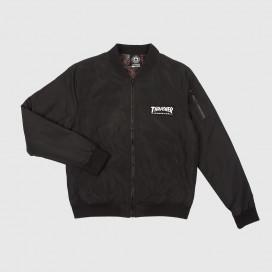 Куртка Thrasher BOMBER JACKET Black