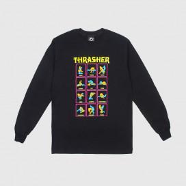 Лонгслив Thrasher Black Light Black