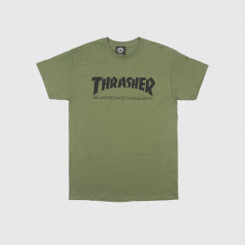 Футболка Thrasher Skate Mag Logo T-Shirt Army