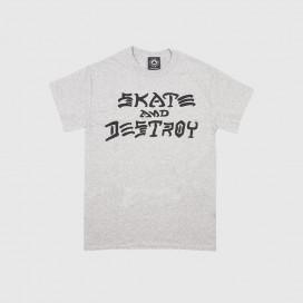Футболка Thrasher Skate and Destroy Grey