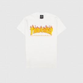 Футболка Thrasher Flame Logo T-Shirt White