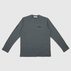 Лонгслив UUA  UUASS20 LS Tee Green/Grey