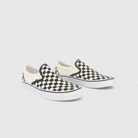 Кеды Vans  Classic Slip-on Blk&WhtChckerboard/Wht