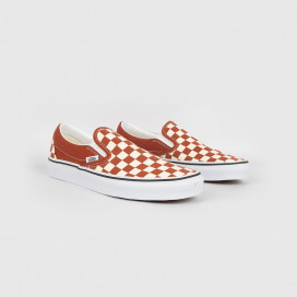 Кеды Vans Classic Slip-On (Chekerboard) Picht/Trwht