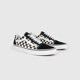 Кеды Vans Old Skool (Primary Check) Black/White