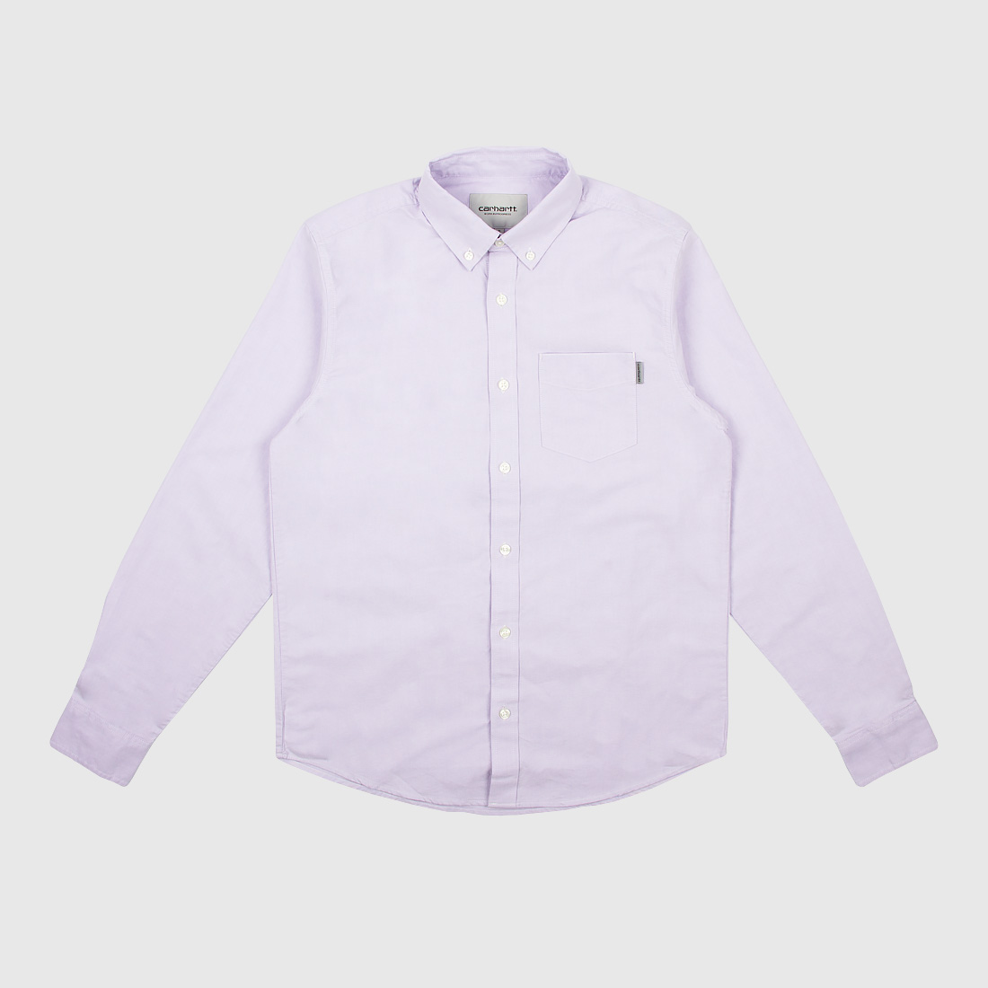 e77971232fc2 Рубашка Carhartt WIP L/S Button Down Pocket Shirt Soft Lavender ...
